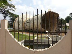 Destroyed Water Tower, Kilinochchi