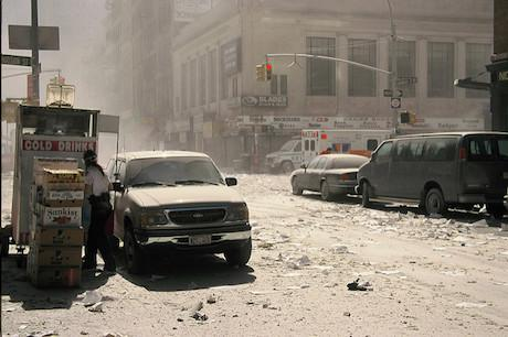 Chambers Street, New York, 11_09_01. David Farquhar_Flickr. Some rights reserved