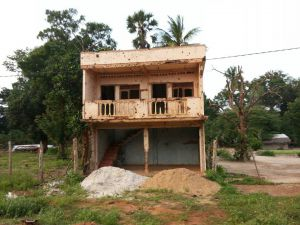 Under Reconstruction; Near Mullaitivu